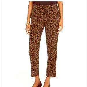 Leopard Crop Pants